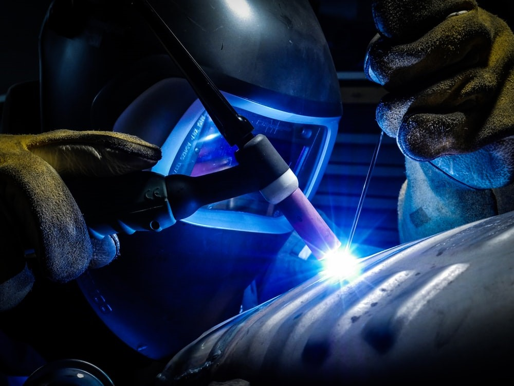 Different types of welds