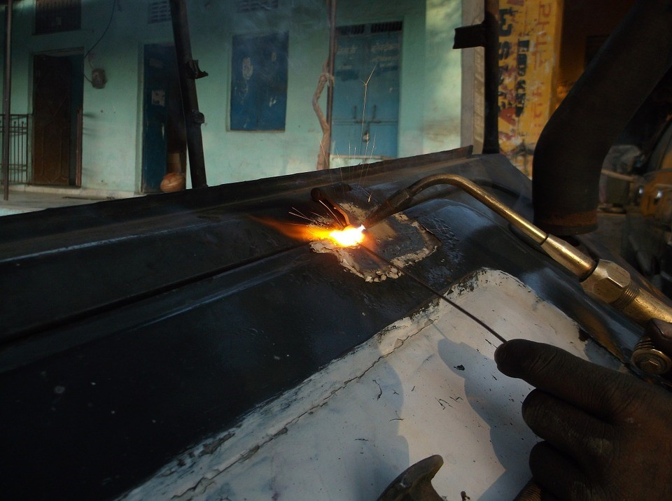 How to fix a weld distortion